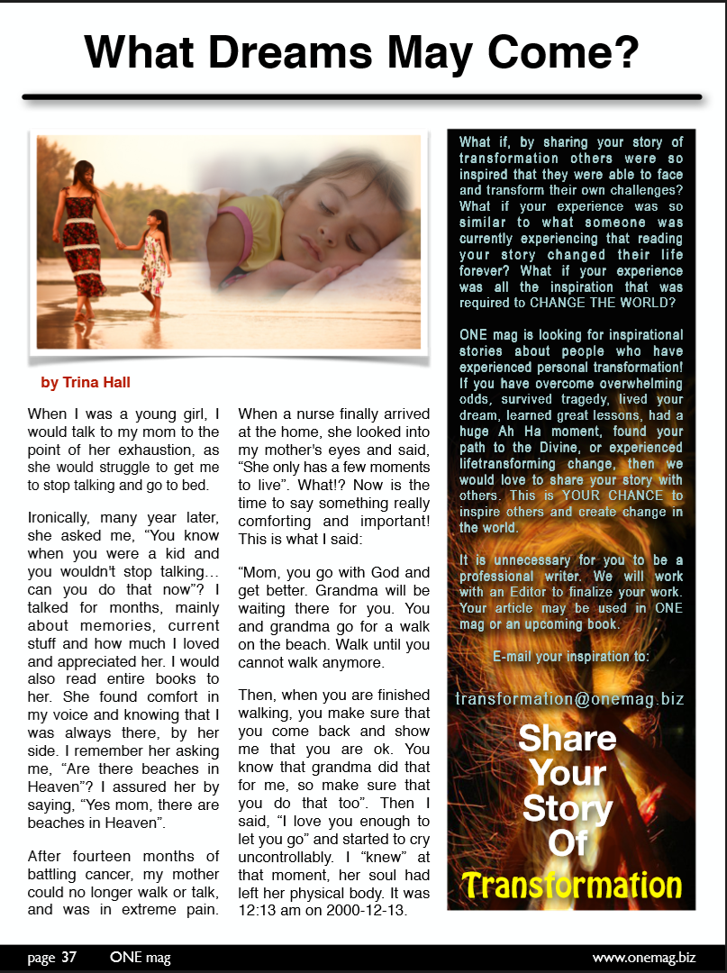 ONE mag - October 2014 Issue - Page 3